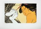 Geishas   Obra gráfica de Fernando Bellver   Compra arte en Flecha.es