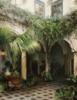 Patio en Cordoba | Pintura de Carmen Nieto | Compra arte en Flecha.es