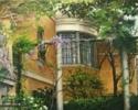 Patio Museo Sorolla | Pintura de Carmen Nieto | Compra arte en Flecha.es