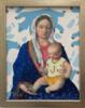 Virgen Guapa de los osos amorosos | Pintura de Paco Sánchez | Compra arte en Flecha.es