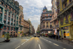 Vía Laietana | Fotografía de Leticia Felgueroso | Compra arte en Flecha.es