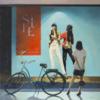 Escaparate II | Pintura de Orrite | Compra arte en Flecha.es