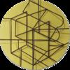 Constelación sobre amarillo | Pintura de Manuel Sánchez-Algora | Compra arte en Flecha.es
