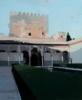 Patio de Comares   Pintura de Gonzalo Rodríguez   Compra arte en Flecha.es