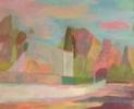 Rue des Heliotropes | Pintura de Iria | Compra arte en Flecha.es