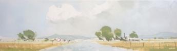 Carretera secundaria 1 | Pintura de Iñigo Lizarraga | Compra arte en Flecha.es