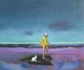 Refugio 9 | Pintura de Benito Salmerón | Compra arte en Flecha.es
