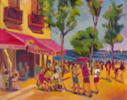 Cervezas y naranjadas   Pintura de José Bautista   Compra arte en Flecha.es