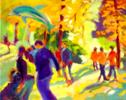 Delfín globo | Pintura de José Bautista | Compra arte en Flecha.es