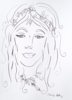 Ninfa 1 | Dibujo de Ouka Leele | Compra arte en Flecha.es