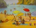 Cala menorquina | Pintura de José Bautista | Compra arte en Flecha.es
