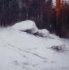 Winter Landscape IV | Pintura de Francisco Castro | Compra arte en Flecha.es