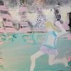 niña corriendo   Pintura de Rosita Ibañez Martin   Compra arte en Flecha.es