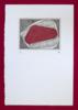 Bisectrices - Rojo | Obra gráfica de Bianco Ximena | Compra arte en Flecha.es