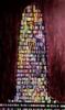 Torre de Babel granate   Pintura de Yanespaintings   Compra arte en Flecha.es