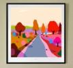 Atardecer de otoño | Digital de ALEJOS | Compra arte en Flecha.es