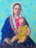 Virgen Guapa Chic | Pintura de Paco Sánchez | Compra arte en Flecha.es