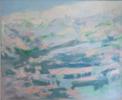 Ascenso a la cumbre   Pintura de Guillermo Serrano de Entrambasaguas   Compra arte en Flecha.es