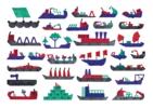 Barcos | Digital de Teresa Arroyo Corcobado | Compra arte en Flecha.es