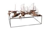 Mercado fluvial | Escultura de Fernando Suárez | Compra arte en Flecha.es