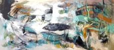 EL TIEMPO DE ELEKTRA | Pintura de Sargam | Compra arte en Flecha.es