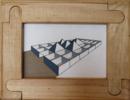 Pirámides   Collage de Ana Pellón   Compra arte en Flecha.es