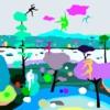 Parkour salvaje (Wild parkour) | Dibujo de ALEJOS | Compra arte en Flecha.es