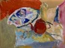 BODEGÓN CON TETERA Y PALETA | Pintura de Iraide Garitaonandia | Compra arte en Flecha.es