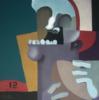 Quarterback | Pintura de Carlos Blanco Artero | Compra arte en Flecha.es