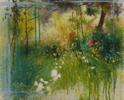 JARDIN | Pintura de ÁNGELES CERECEDA | Compra arte en Flecha.es