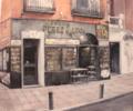 Librería Pérez Galdós-Madrid   Pintura de TOMAS CASTAÑO   Compra arte en Flecha.es
