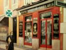 Farmacia Ldo. A. Saiz-Madrid | Pintura de TOMAS CASTAÑO | Compra arte en Flecha.es