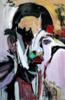 La Negra Flor | Pintura de FRANCISCO ALARCÓN | Compra arte en Flecha.es