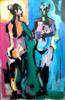 Las Dos Gracias | Pintura de FRANCISCO ALARCÓN | Compra arte en Flecha.es