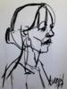 Sophie II | Dibujo de FRANCISCO ALARCÓN | Compra arte en Flecha.es