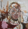 Mujer Africana | Collage de Calonje | Compra arte en Flecha.es