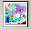 Estanque japonés   Dibujo de ALEJOS   Compra arte en Flecha.es
