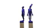 Feeling Blue | Escultura de Álvaro de Matías | Compra arte en Flecha.es