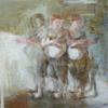 Las tres gracias   Collage de Pilar López Báez   Compra arte en Flecha.es