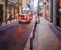 Calle Barquillo. Madrid | Pintura de BALSERA | Compra arte en Flecha.es