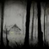 La cabaña en la niebla. | Dibujo de Rosario Rodriguez | Compra arte en Flecha.es