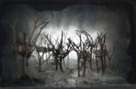 Caja de las casas en los arboles. | Collage de Rosario Rodriguez | Compra arte en Flecha.es