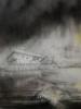 El monstruo del lago.   Dibujo de Rosario Rodriguez   Compra arte en Flecha.es