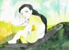 Chorar o demo | Dibujo de Reme Remedios | Compra arte en Flecha.es