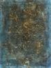 Composición en tonos marrón y turquesa | Pintura de Enric Correa | Compra arte en Flecha.es