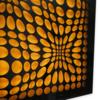 IN & OUT (Black/Yellow) | Digital de Geometricarte | Compra arte en Flecha.es
