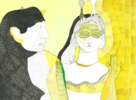 Chorar o aire | Dibujo de Reme Remedios | Compra arte en Flecha.es