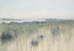 El embarcadero   Pintura de José Luis Romero   Compra arte en Flecha.es