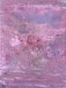 Composición matérica rosada | Pintura de Enric Correa | Compra arte en Flecha.es