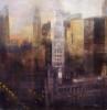 Chicago nocturno | Pintura de ISABEL  AVILA | Compra arte en Flecha.es
